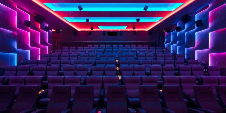 Parkett unterschied loge kino Kino: Loge