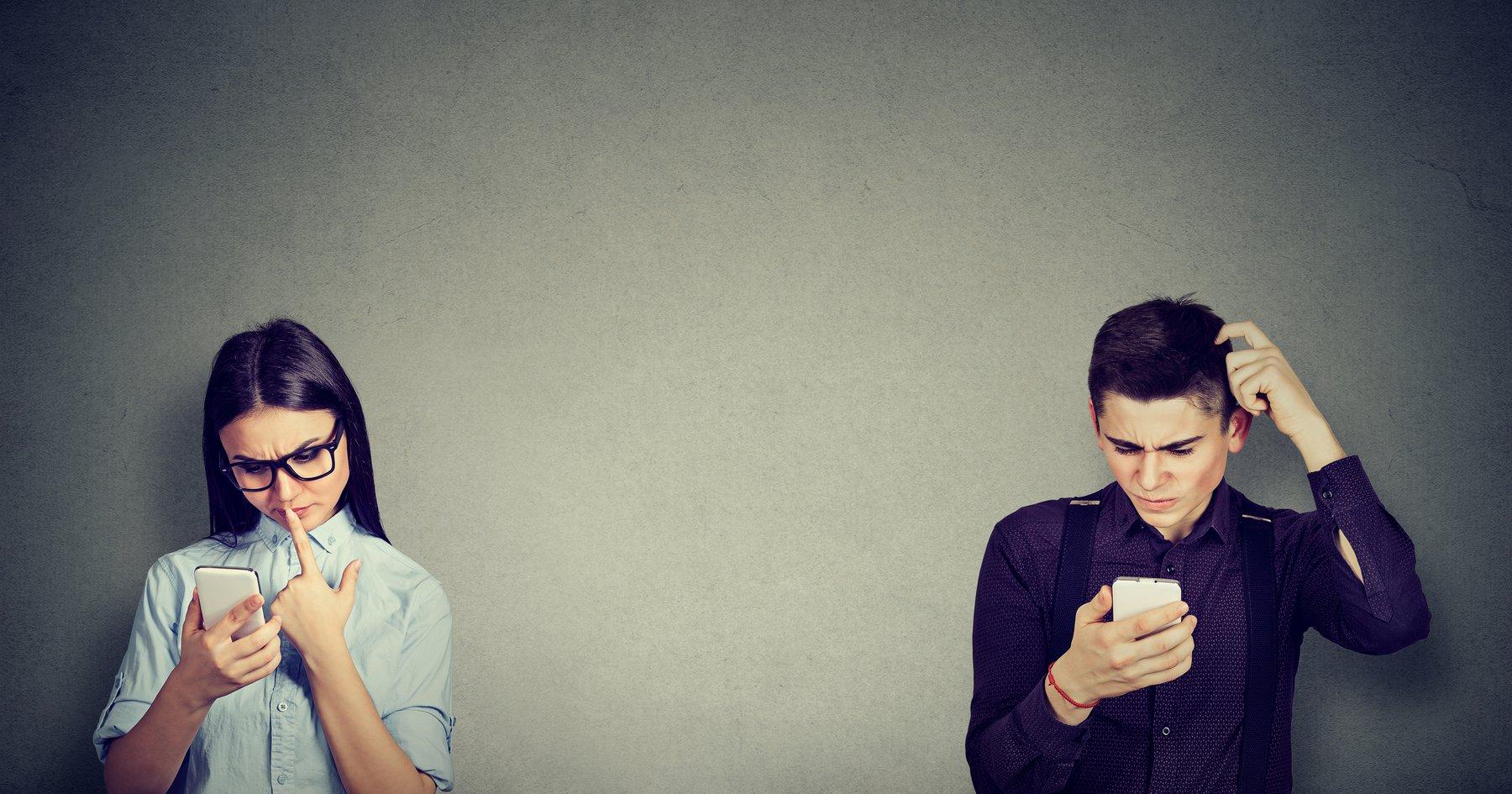 Einzigartige Online-Dating-Nachrichten